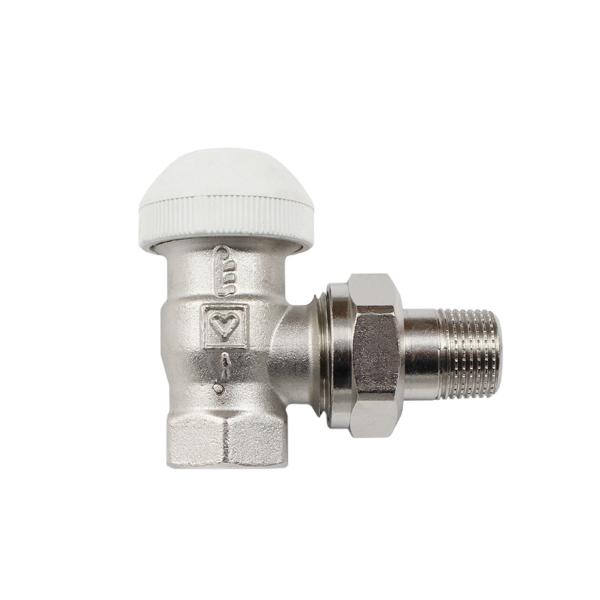 Термостатический клапан ГЕРЦ-TS-90 угловой