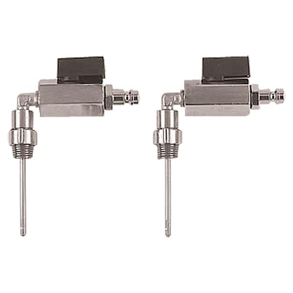 Pressure transducer set for quick test points