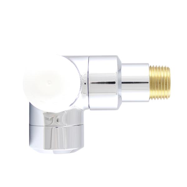 "HERZ-TS-90 thermostatic valve DE LUXE, 3-axis valve ""AB"""