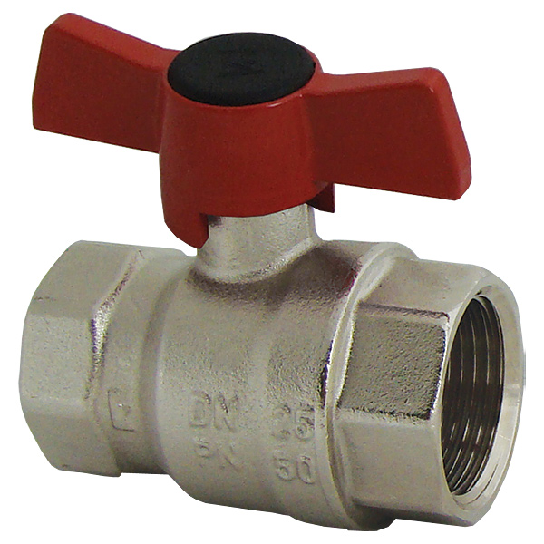 Ball valve with T-handle (silumin), PN 25