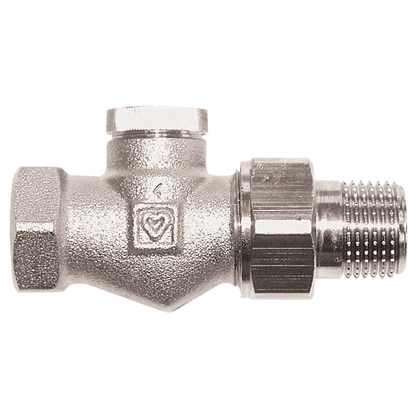 HERZ-RL-1 return valve - straight model