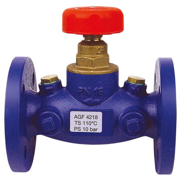 STRÖMAX-AGF-запорный клапан с прямым шпинделем, фланцевое исполнение.
