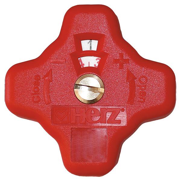 Ersatzhandrad rot für 4017