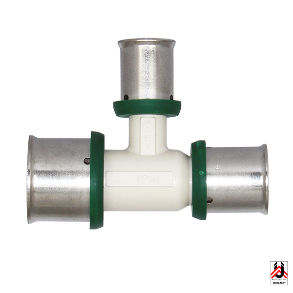 Pressfittings PPSU – T-piece, expanded/reduced
