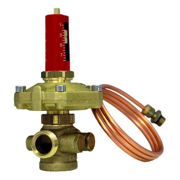 HERZ-Differenzdruckregler - 80 KPa