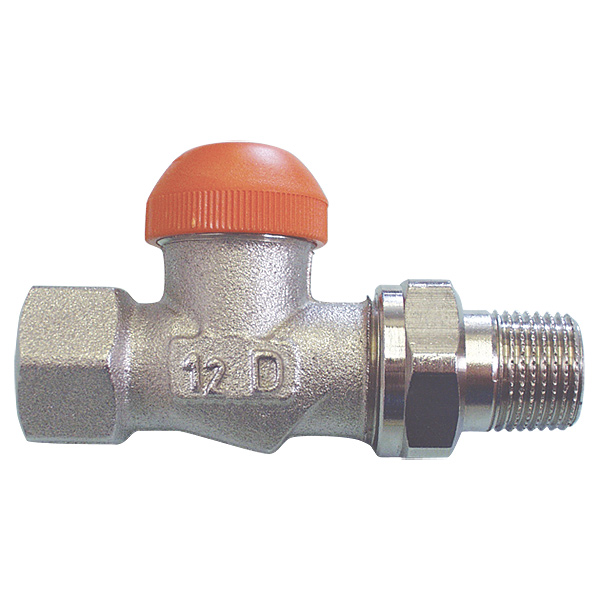 HERZ-TS-98-V thermostatic valve - straight model