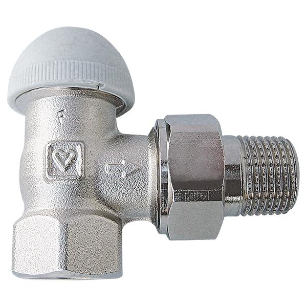 HERZ-TS-98-VH thermostatic valve - angle model