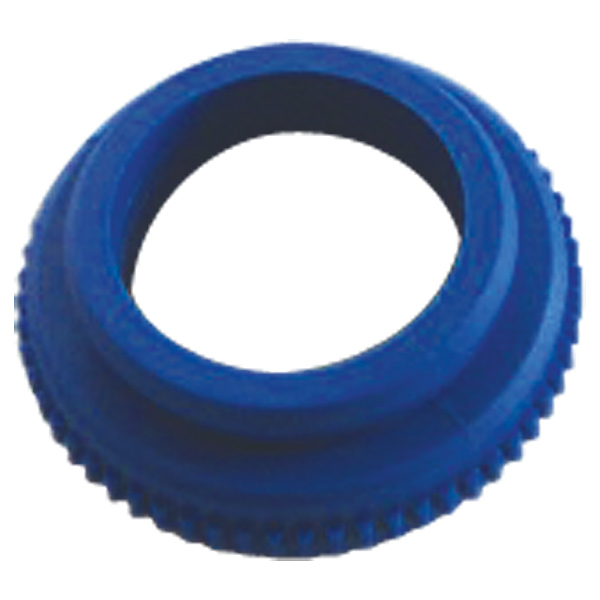 Adapter for HERZ actuating drive, colour blue