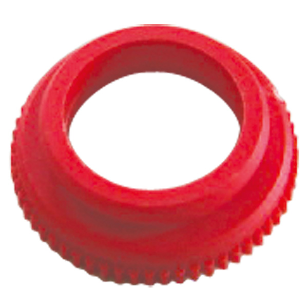 Adapter für HERZ-Thermomotor, Farbe rot