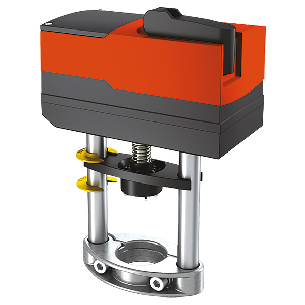 HERZ actuator for control valves