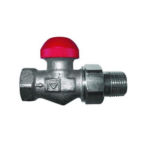 HERZ-TS-90-V thermostatic valve - straight model