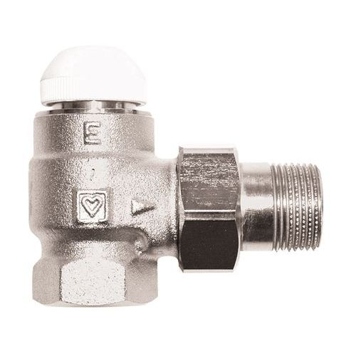 HERZ-TS-E thermostatic valve - angle model