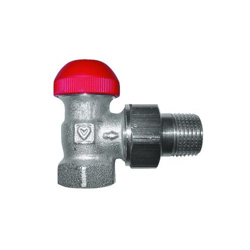 HERZ-TS-90-V-Thermostatventil Eckform