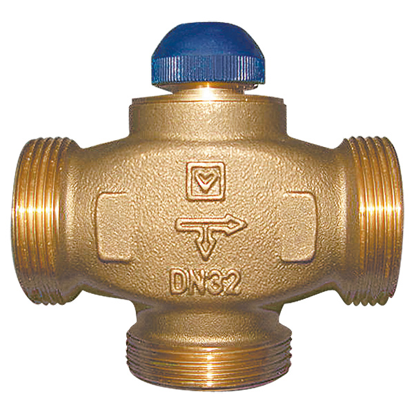 Трёхходовой термостатический клапан CALIS-TS-RD, распределение до 100%