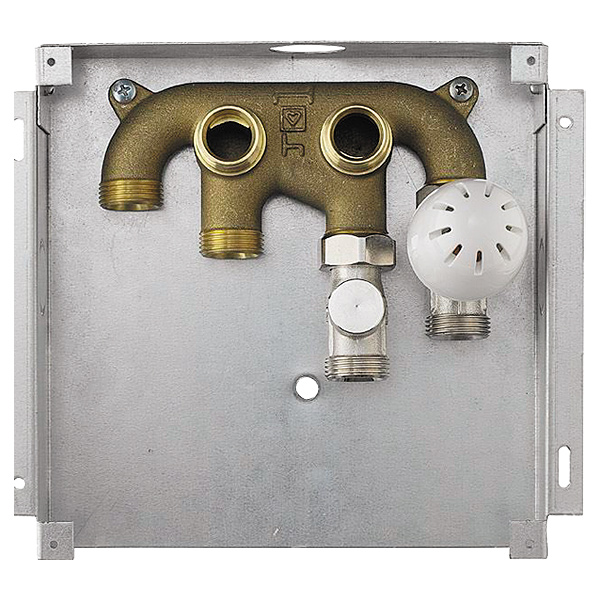 HERZ room temperature control set for radiator and floor connection