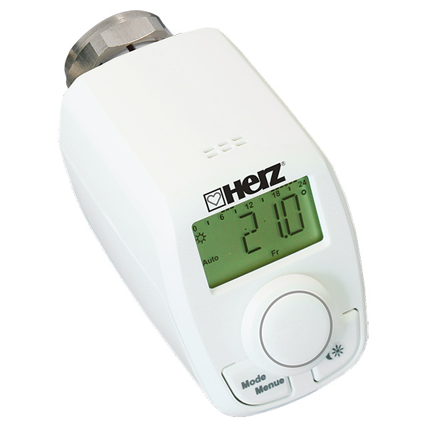 Elektronischer Thermostatkopf ETK (ohne Funkempfänger)