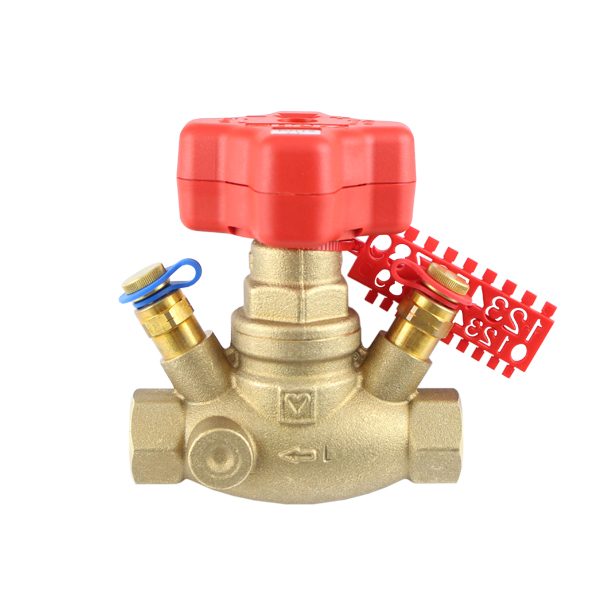 STRÖMAX-GM, commissioning valve for differential pressure measurement with straight body