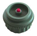 Adapter für HERZ-Thermomotor, Farbe grau Stößel rot