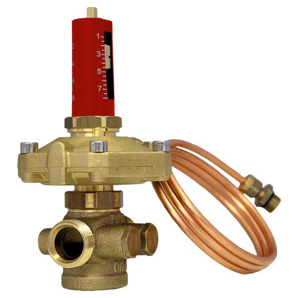 HERZ differential pressure controller - 60 KPa