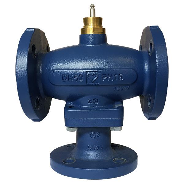 HERZ three-port control valve