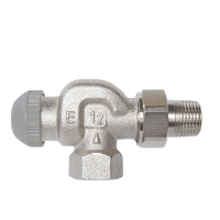 HERZ-TS-90-E thermostatic valve - reverse angle model