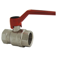 Ball valves for heating and cooling