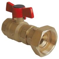 Kugelhahn für Pumpe mit Rückschlagventil