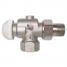 HERZ-TS-90-KV-Thermostatventil Eckform spezial 3/8 - grün