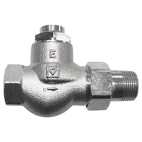 HERZ-RL-1-E-Return Valve Straight model