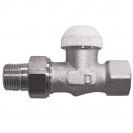 HERZ-TS-90-KV-Thermostatventil Durchgangsform 3/4 - grün
