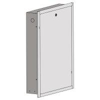 HERZ Unterputzkasten für HERZ Durchlauferhitzer mit Frontrahmen und Fronttüre