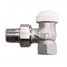 HERZ-TS-90-KV-Thermostatventil Eckform 3/4 - grün