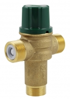 HERZ drinking water mixing valve for HIU