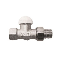 HERZ-TS-90-KV-Thermostatventil Durchgangsform, Dimension 1/2