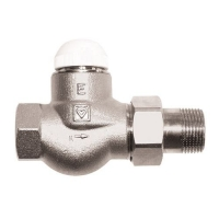 HERZ-TS-E thermostatic valve - straight model