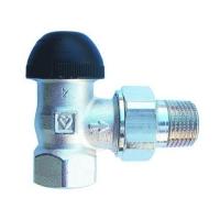 Термостатический клапан ГЕРЦ-TS-90-H, угловой