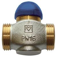 Thermostatventil mit umgekehrtem Wirksinn (normal geschlossen), Durchgangsform