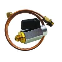 Kugelhahn mit Impulsleitung für Differenzdruckregler