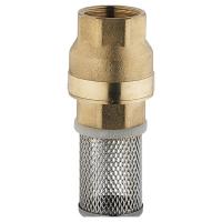 HERZ -Fußventil mit Filterkorb
