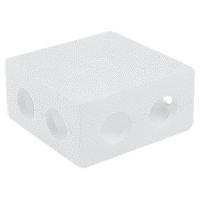 Бокс - теплоизолирующий для присоединительного узла, внутренняя резьба ½ (пластик)