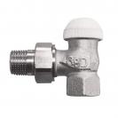 HERZ-TS-90-KV-Thermostatventil Eckform 3/8 - grün