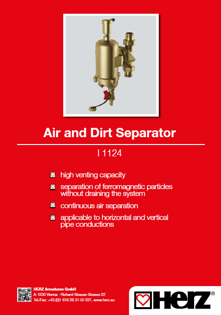 Air and Dirt Separator