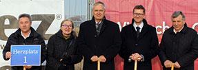 Baustart für das neue HERZ-Zentrallager in Günselsdorf (NÖ)