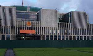 HERZ Strangregulierventile im neuen Parlament von Hanoi/Vietnam