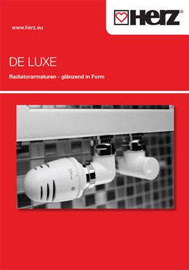 DE LUXE Radiatorarmaturen