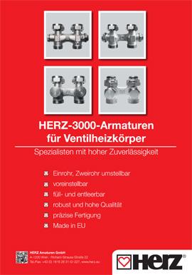 HERZ-3000 <br>Armaturen
