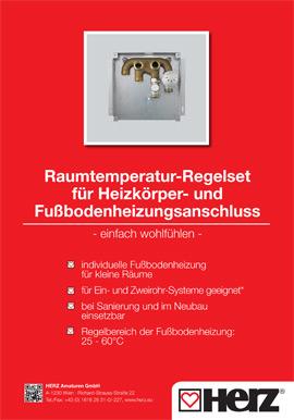 Raumtemperatur-Regelset
