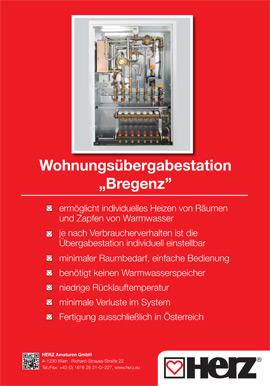 Wohnungsübergabestation Bregenz