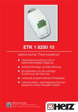 Elektronischer <br> Thermostatkopf