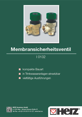 Membran-<br>sicherheitsventil